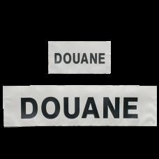 Bandeau rétro réfléchissant d'identification Douane