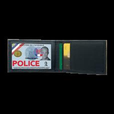 Porte-carte mini horizontal 2 volets
