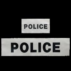 Bandeau rétro-réflechissant  d'identification police