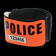 Brassard police rétro- réflechissant