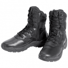 Chaussure d'intervention Boots cuir & toile zip